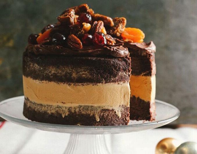 Salted Caramel Cake Recipe Bbc Good Food